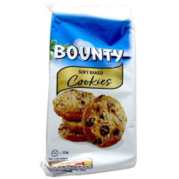 Bounty Soft Baked Cookies 180g/ Galletas con Chocolate y Coco