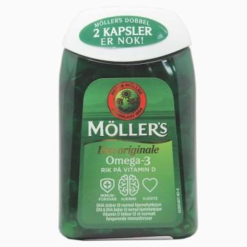 Möller's Den Originale Dobbel Omega-3 x112/ Omega-3&Vitamins Capsules
