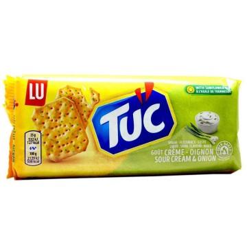 Lu Tuc Sour Cream&Onion Flavour 100g/ Galletas Saladas Cebolla y Crema Agria