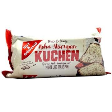 Gut&Günstig Mohn-Marzipan Kuchen 400g/ Bizcocho Semillas de Amapola y Mazapán