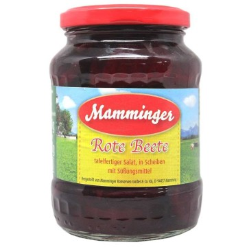 Mamminger Rote Beete 370ml/ Sliced Beetroot