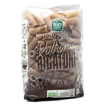 Biologisch Volkoren Rigatoni 500g/ Pasta Integral Biológica
