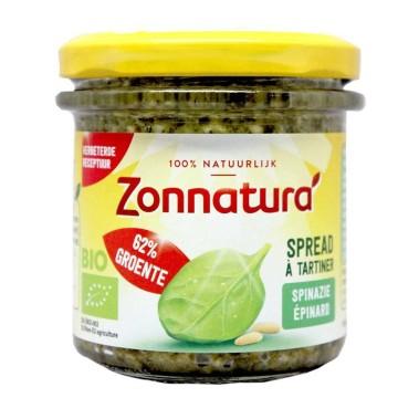 Zonnatura Groentespread Spinazie Pijnboompit 135g/ Untable Espinacas y Piñones