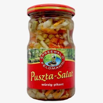Spreewald Feldmann Puszta-Salat Würzig-Pikant 330g/ Pickled Mix Veggies