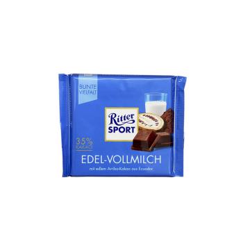Ritter Sport Edel-Vollmilch / Chocolate con Leche Entera 100g