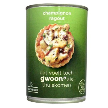 Gwoon Ragout Champignon 400g/ Mushrooms Ragout