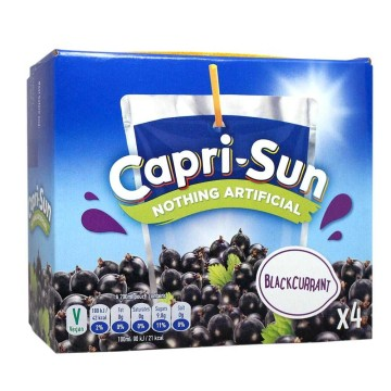 Capri-Sonne Blackcurrant 4x200ml