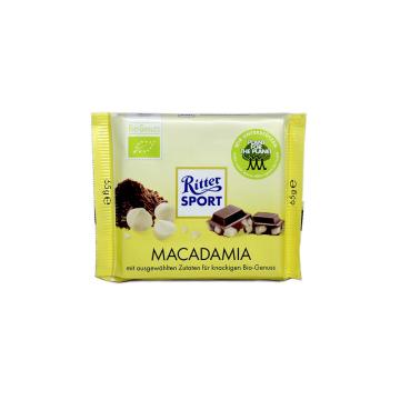 Ritter Sport Macadamia 65g/ Chocolate Eco Nueces Macadamia