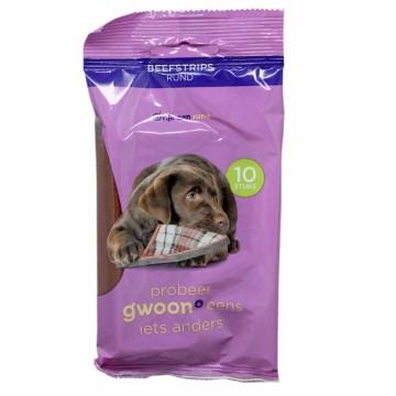 Gwoon Beefstrips 90g/ Snack para Perro
