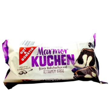Gut&Günstig Marmor Kuchen 400g/ Bizcocho Vainilla y Chocolate