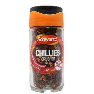 Schwartz Chillies Crushed 29g/ Chiles Machacados