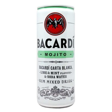 Bacardí Mojito 5% 250ml/ Rum Mixed Drink