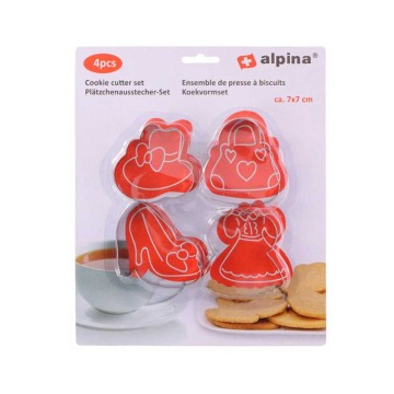 Alpina Koekvormenset/ Cookies Mold