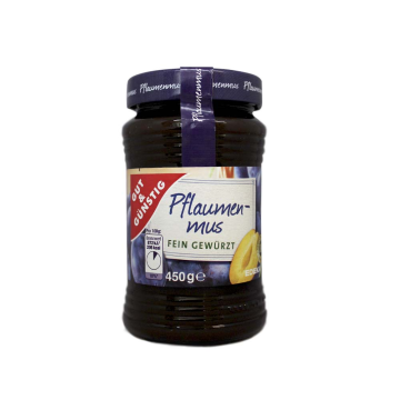 Gut&Günstig Pflaumenmus 450g/ Prune Jam