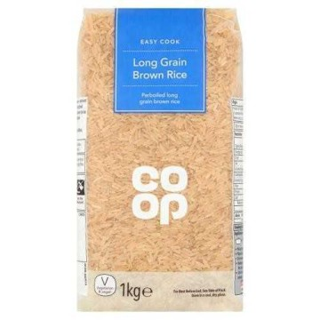 Coop Brown Rice 1kg