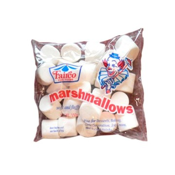 Fairco White Marshmallows 150g