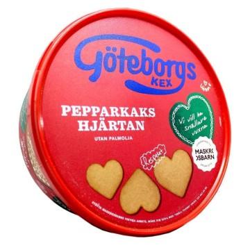 Göteborgs Pepparkaks Hjärtan 375g/ Ginger Biscuits