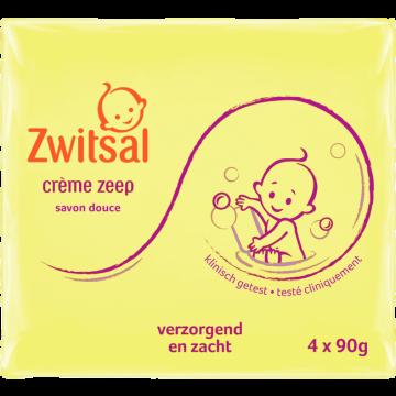 Zwitsal Crème Zeep 4x90g/ Jabón en Pastilla