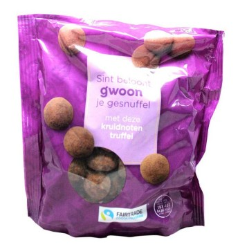 Gwoon Kruidnoten Truffel 250g/ Truffled Spiced Cookies