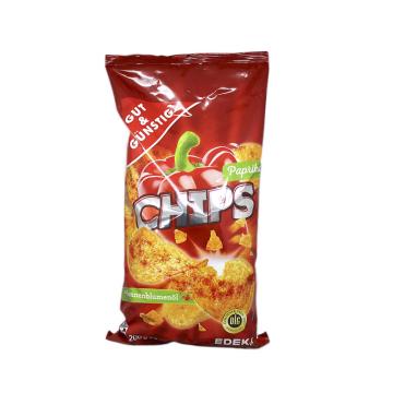 Gut&Günstig Chips Paprika 200g/ Patatas Fritas Pimentón
