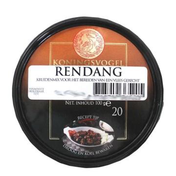 Koningsvogel Rendang Mix No.20 100g