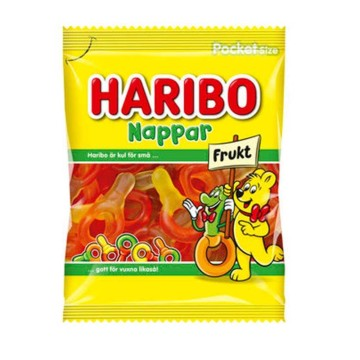 Haribo Nappar Fruit 80g/ Sweeties
