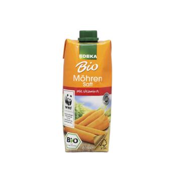 Edeka Bio Möhren Saft 0,5L/ Bio Zumo Zanahoria