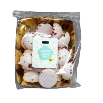 Jumbo Meringue Drops Strawberry 120g/ Gotas de Merengue con Fresa