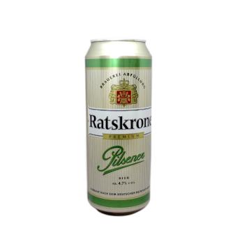 Ratskrone Pilsener 0,5L/ Cerveza