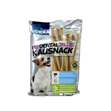 Edeka Dental Plus Kausnack 210g/ Dental Snack for Dog