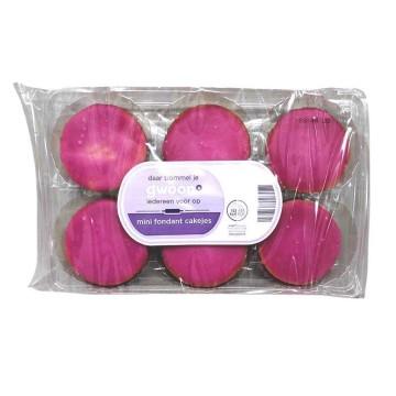 Gwoon Mini Roze Koeken x6/ Mini Pink Sweets