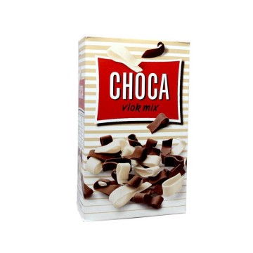 Choca Vlok Mix 200g/ Virutas de Chocolate con Leche y Blanco