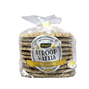 Jumbo Stroopwafels met Honing 365g/ Waffles with Honey