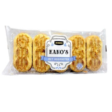 Jumbo Kano's 275g/ Almond Filled Butter Cakes