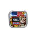 Edeka Feine Happen Menue der Season Kreation 100g/ Comida Gato Pavo&Caza