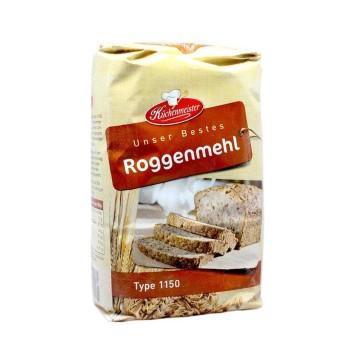 Küchenmeister Roggenmehl Type 1150 1Kg/ Rye Flour
