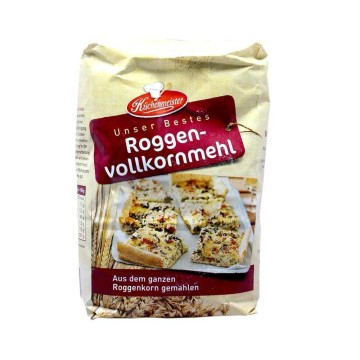 Küchenmeister Roggenvollkornmehl / Harina Integral de Centeno 1Kg