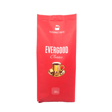 Evergood classic Filtermalt Kaffe 250g/ Norwegian ground coffee