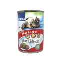 Edeka Pastete Mit Rind & Leber 400g/ Comida Gato Hígado&Vacuno