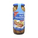 Gut&Günstig Bock Würstchen in Eigenhaut x8/ Pork Sausages Skin-free