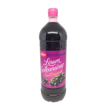 Lerum Solbærsirup 1,5L/ Blackcurrant Squash