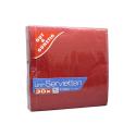Gut&Günstig Uni-Servietten Rot x30/ Servilletas Rojas