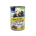 Edeka Pastete Mit Huhn&Leber 400g/ Comida Gato Pate Hígado&Pollo