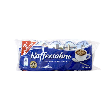Gut&Günstig Kaffeesahne Ultrahoccherhitzt x20/ Cream for Coffee