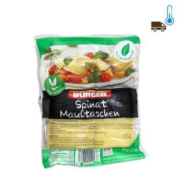 Bürger Spinat Maultaschen/ Filled Pasta for Soup 300g