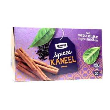 Jumbo Spices Kaneel/ Black Tea with Cinammon and Spices x20