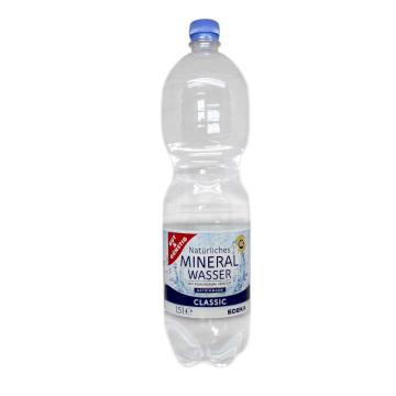 Gut&Günstig Natürliches Mineral Wasser / Agua Mineral Carbonatada 1,5L