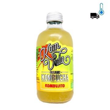Komvida Organic Kombucha Kombujito 250ml/ Drink with Lemon and Peppermint