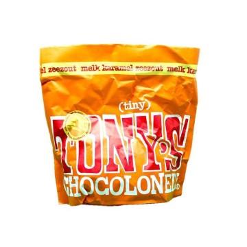 Tony's Chocolonely Melk Karamel Zeezout / Milk Chocolate, Caramel and Sea Salt Chocolate 180g