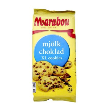 Marabou Mjölkchoklad XL Cookies / Chocolate Chip Cookies 184g